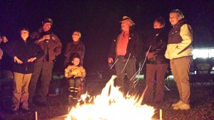 Campfire at CREW