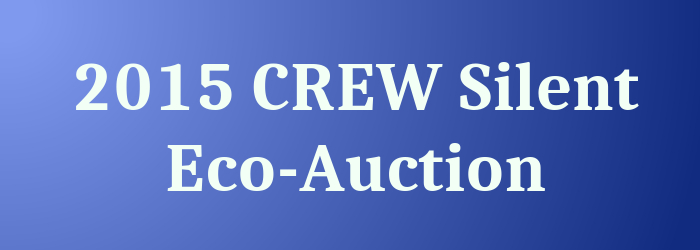 CREW Silent Auction banner