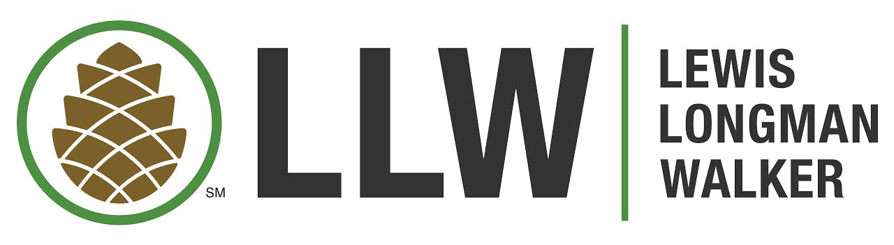 Lewis longman and walker logo